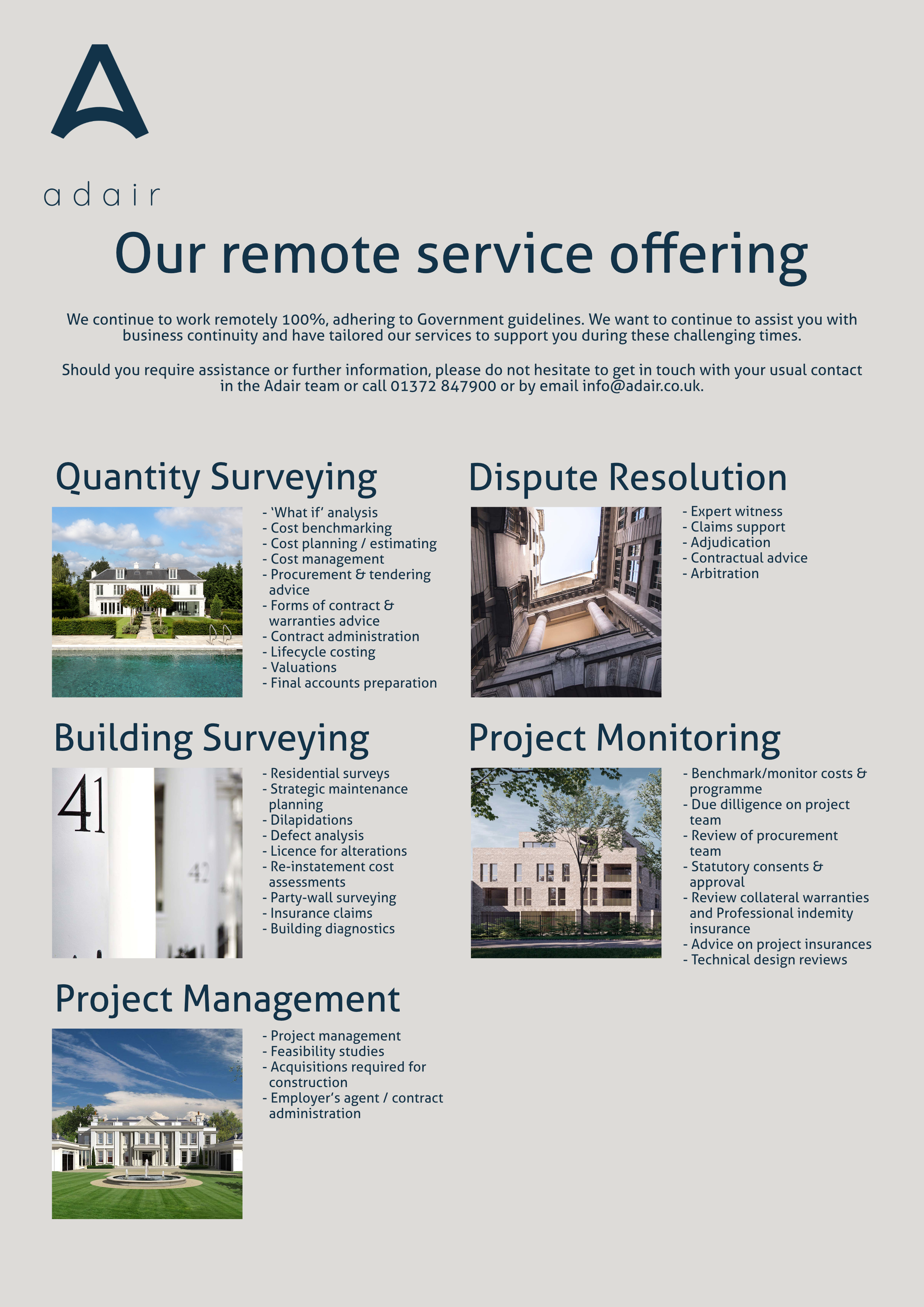 Remote service offering