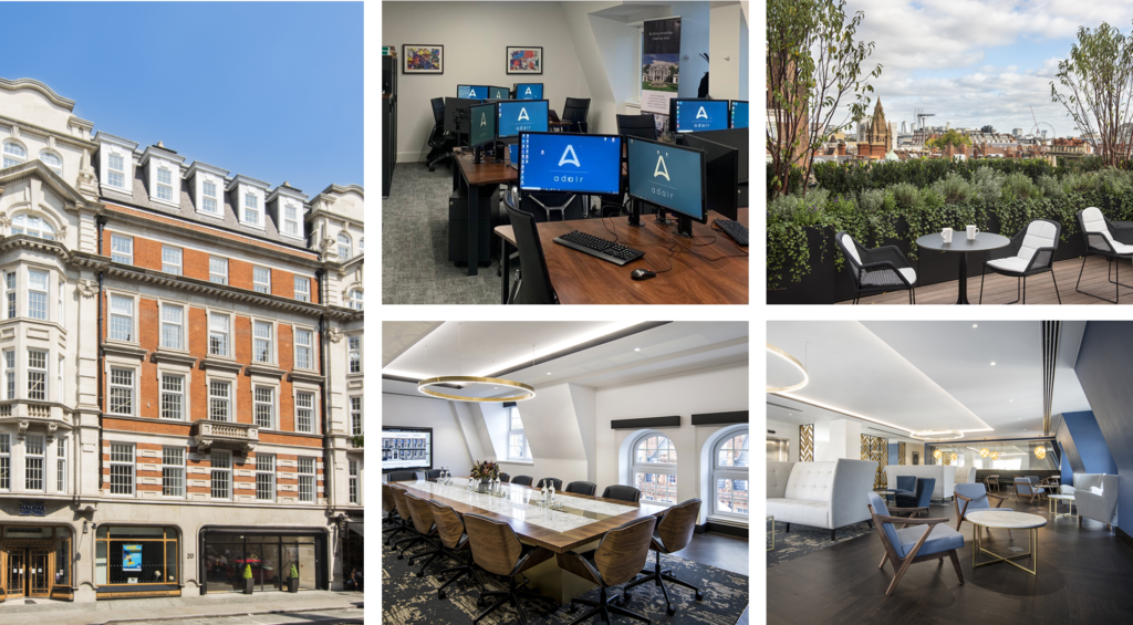 Adair has moved offices in Mayfair!